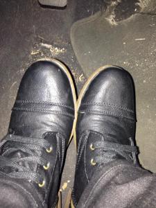 Nothin' like boot season.