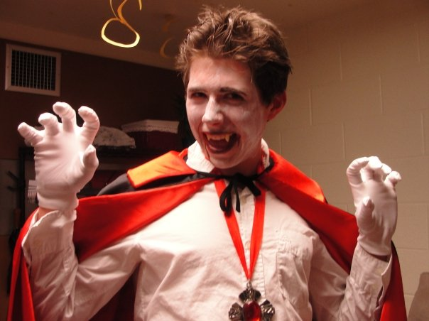 cazey as a vampire
