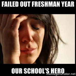 Failed Out School's Hero