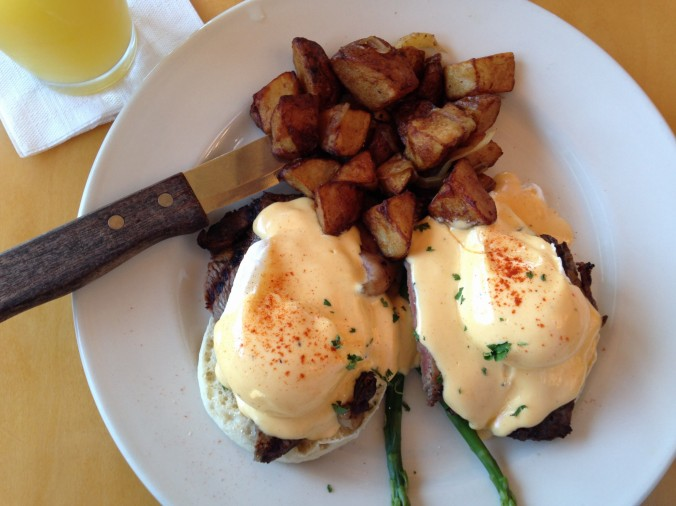 Kitchen 64 -- Prime Rib Eggs Bennies