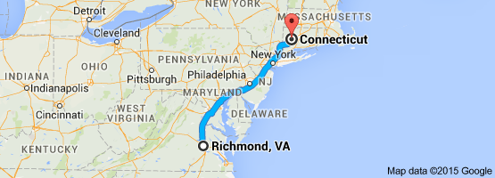 richmond to ct