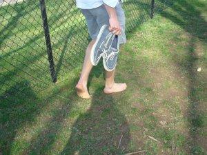 Cazey's feet