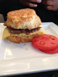 breakfast sandwich | Lunch