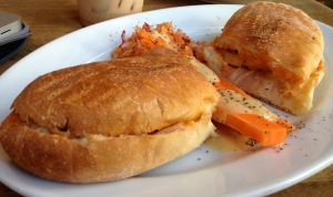 Q Bleu Chicken sandwich