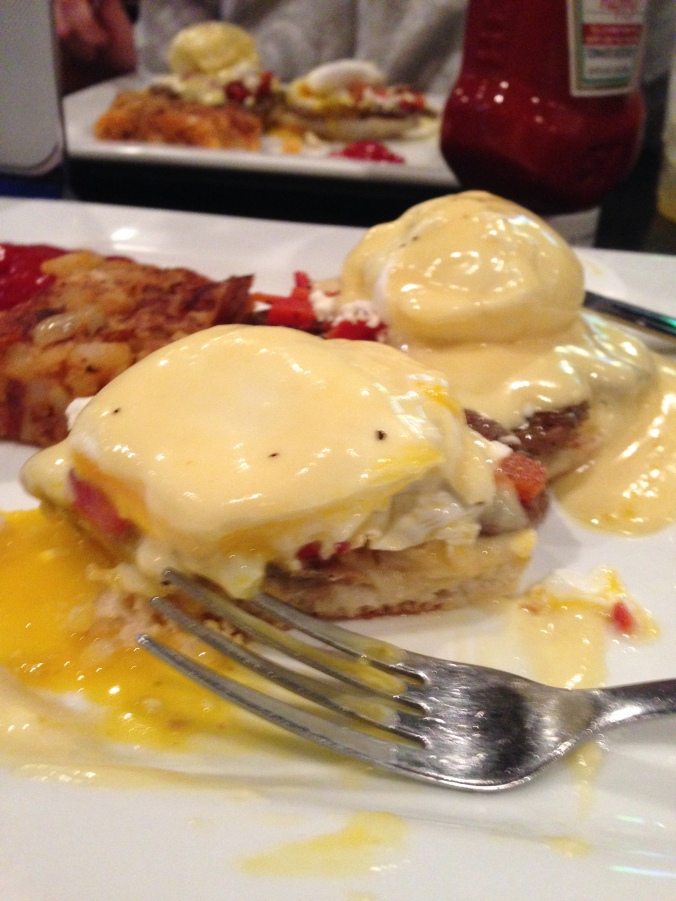 Gyro Benedict at Gus'