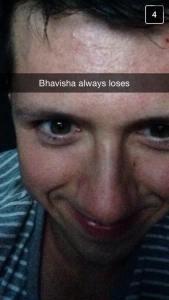Bhavisha Always Loses