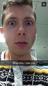 Bhavisha I see you